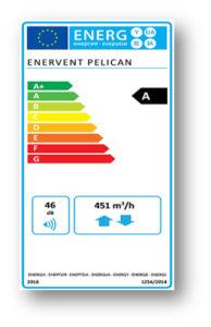 EcoDesign Enervent Pelican HP eAir