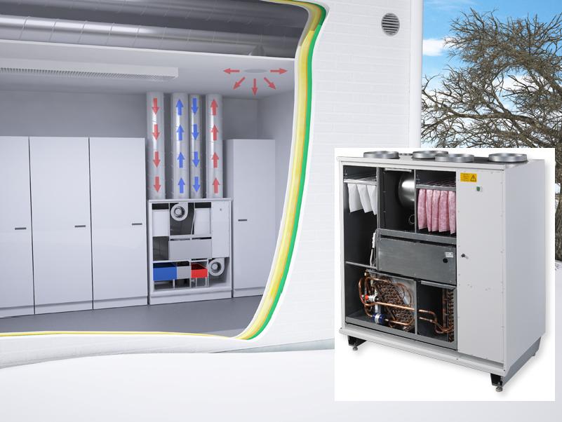 Pegasos HP eAir VMC Enervent